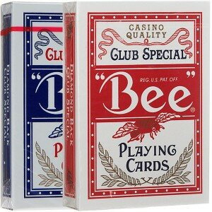 BEE №92 CLUB SPECIAL RED+BLUE