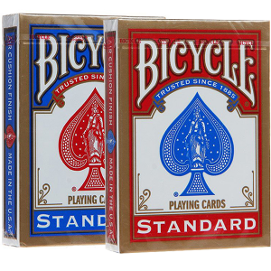 BICYCLE STANDARD RED+BLUE